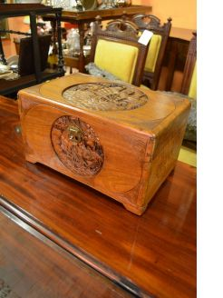 Chinese campor wood box