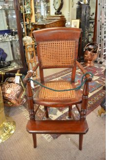 Mahogany childs chair