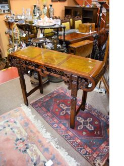 19th century chinese hardwood table