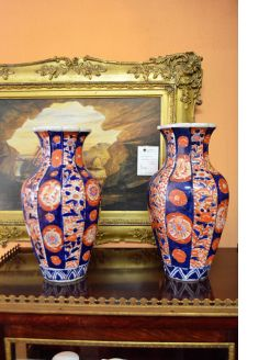 Pair of 19th century japanese vases