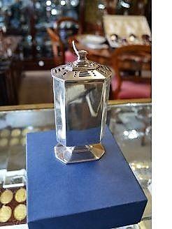 Art Deco Silver sugar castor
