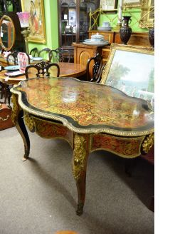 19th century french boulle  centre table