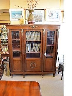French mahogany cabinet