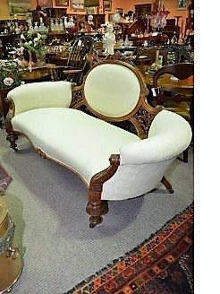 Victorian walnut couch