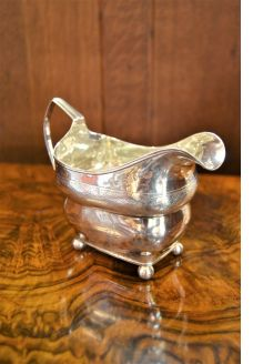 William IV irish silver jug