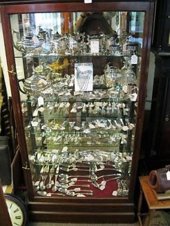 Large selection of irish silver available