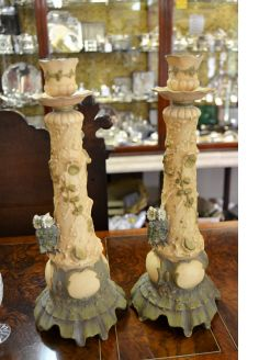 Pair of austrian porcelain