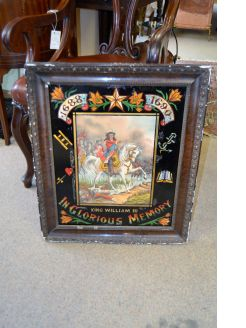 King william 111 framed print