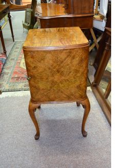Walnut pedestal