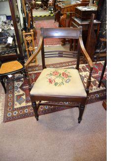 Georgian carver / desk chair