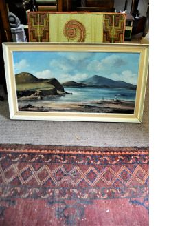 Oil on canvas signed (irish artist)
