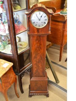 Mahogany cased clock