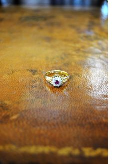 18ct gold diamond