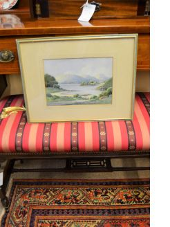 G.W Morrison framed watercolour