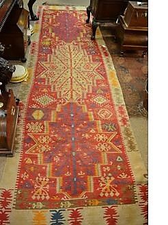 Large aztec style runner
