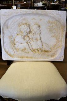Sophia Rosamond Praeger HRHA ,plaster plaque