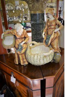 Austrian amphora figure