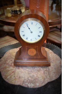 Edwardian mahogany clock