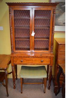 19th century mahoganny cabinet