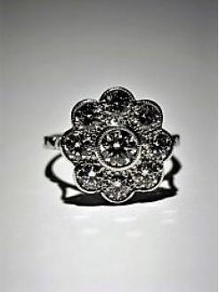 18ct gold and diamond ring