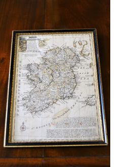 Old irish map