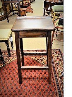 Oak clerks seat