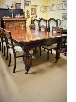 Late victorian mahogany table