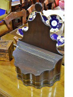 Georgian mahogany salt box