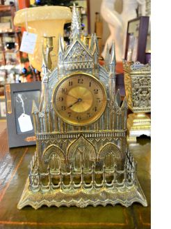 victorian gothic style clock