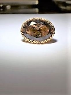 9ct gold fob