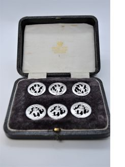 Cased silver buttons