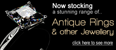 Antique rings and jewellery