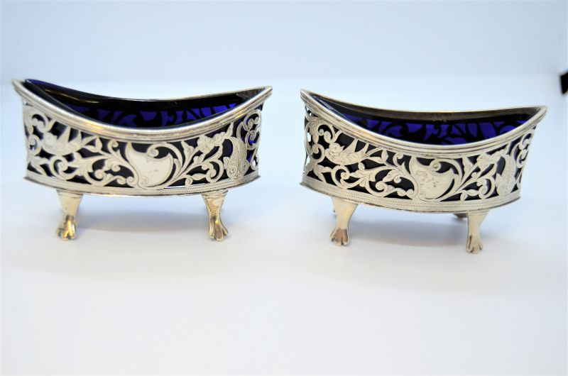 Pair of silver salts