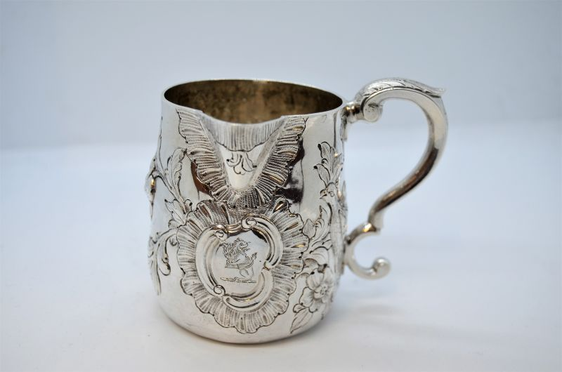 18th century Irish silver jug