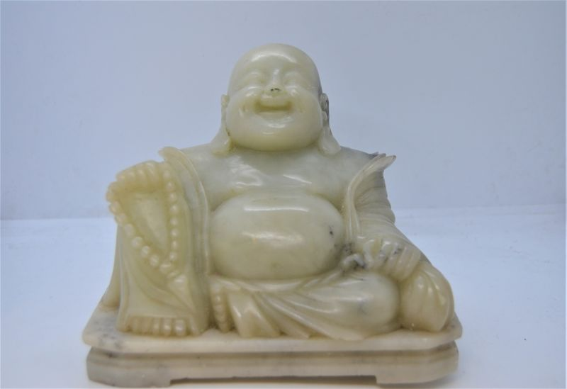 Carved soap stone Buddha