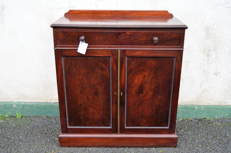 19th century mahogany cabinet