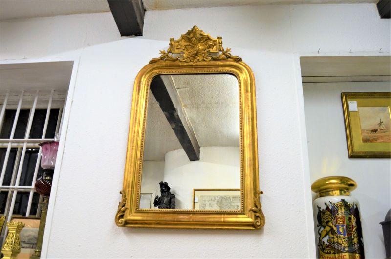 Victorian gilt frames mirror