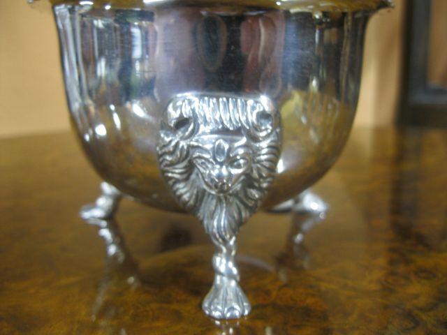 Irish Silver Sugar Bowl Sku5099