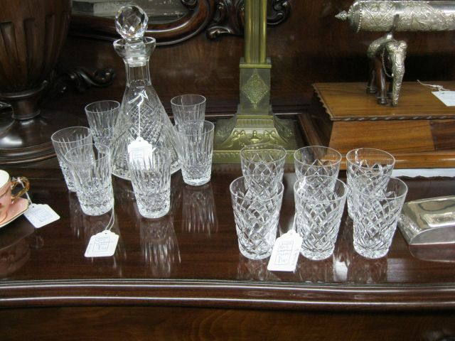 A Selection Of Waterford And Tyrone Crystal Glass Sku5648