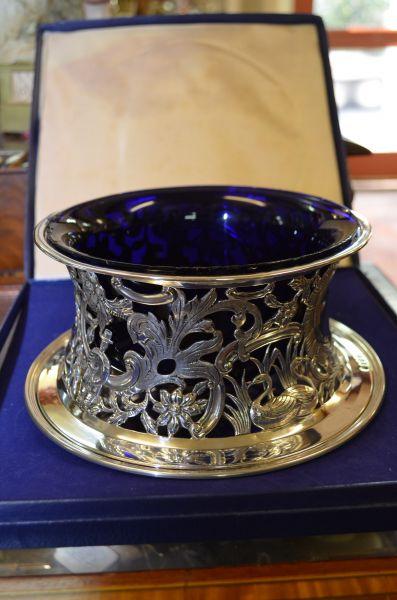Victorian Irish Silver Dish Ring