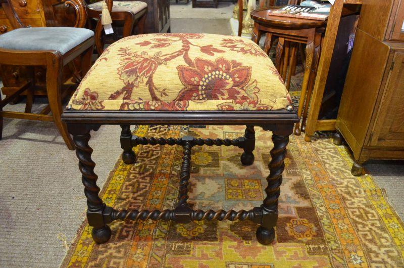 Large oakstool
