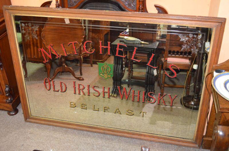 Old pub mirror