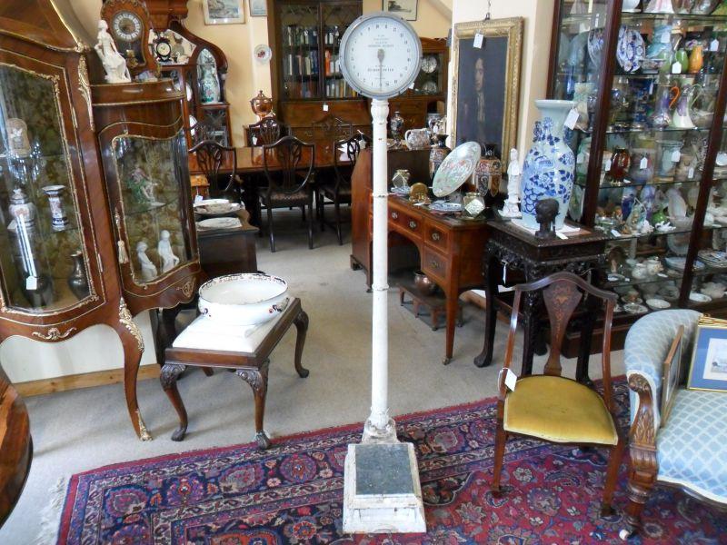 Salters cast iron weighing machine