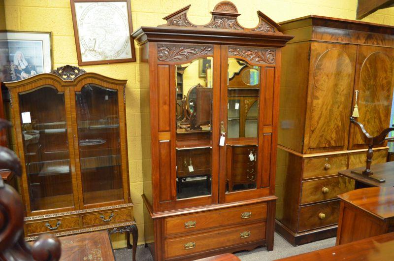 Late 19th century wardrobe