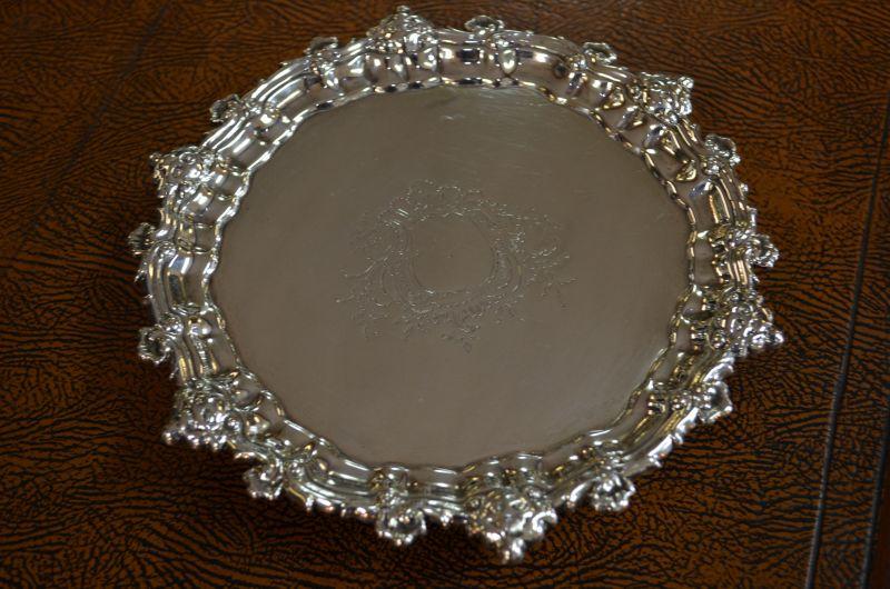 18th century Silver Salver