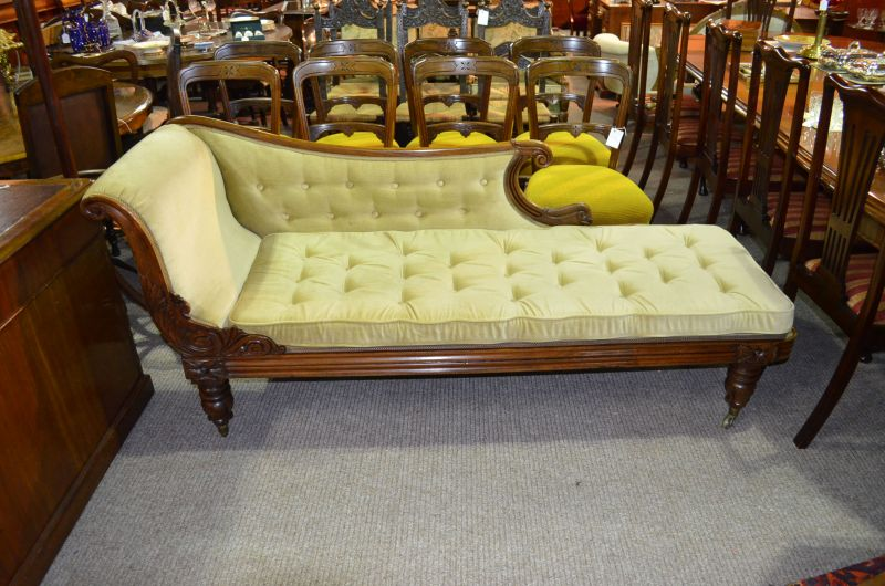 19th century mahogany settee/couch