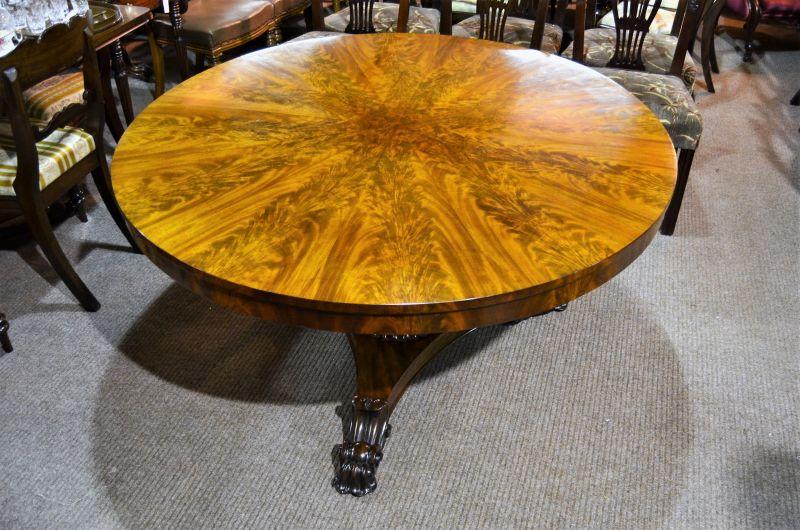 19th century walnut feather table