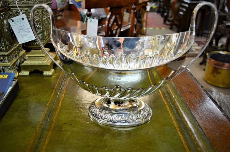 Victorian silver two handle bowl