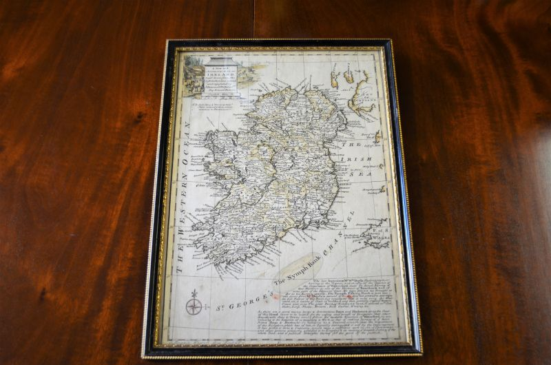 Old irish map
