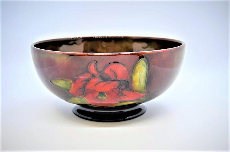 Flambe moorcroft bowl